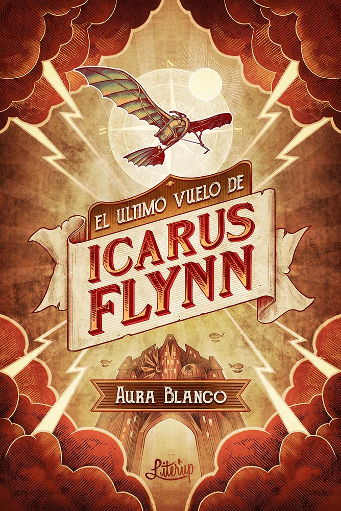Reseña El último vuelo de Icarus Flynn, de Aura Blanco - Cine de Escritor