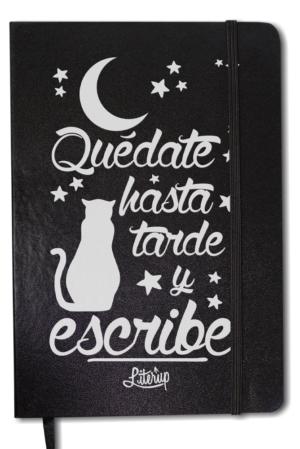 Libreta - Quédate hasta tarde y escribe