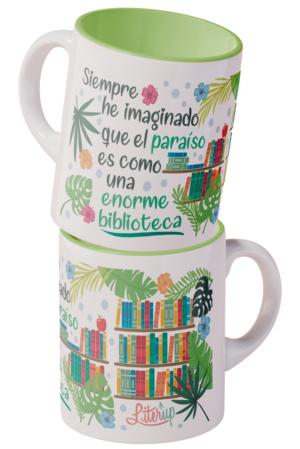 El paraíso es una enorme biblioteca